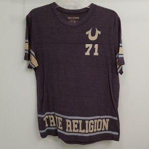 True Religion Women's Short Sleeve T-shirt in XL